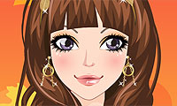 Autumn Girl Make-Up