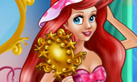 Ariel's make up room
