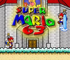 super mario 63 online spielen