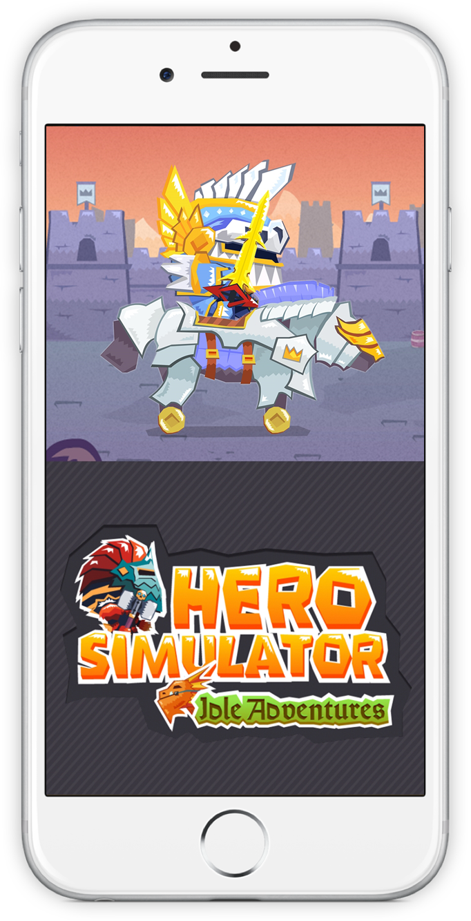 Screenshot of Hero Simulator