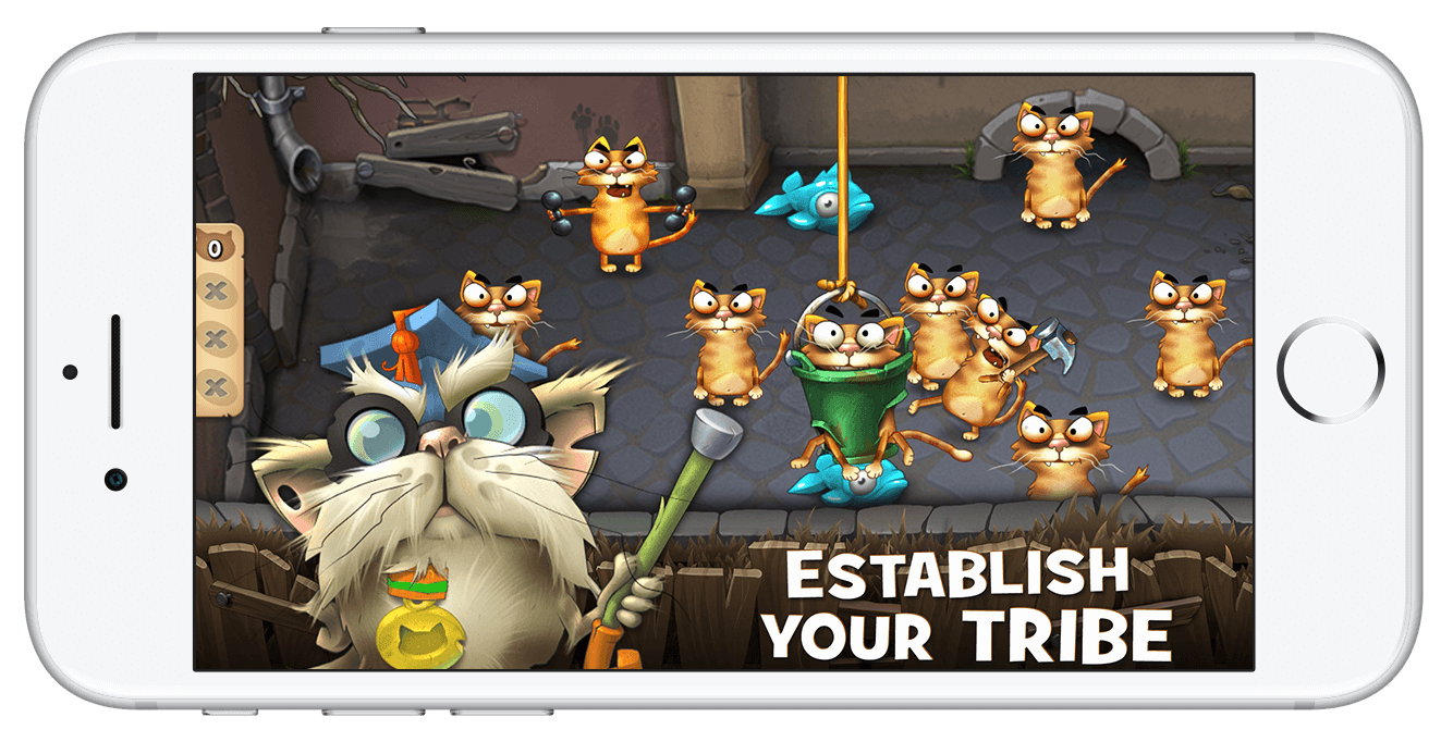 Screenshot of Cats Empire