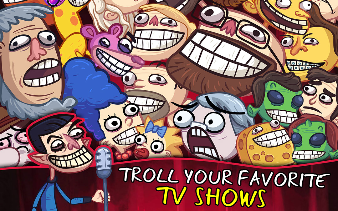 how to play trollface quest tv show