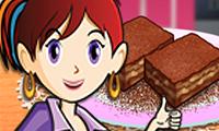 Cocina con Sara: brownie de caramelo