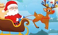 Slitta di Babbo Natale incidentata