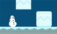 Tantangan Manusia Salju