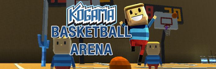 Kogama: баскетбольная арена