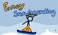 Опытный сноубордист