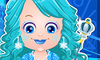 Baby Hazel: Ice Princess Dress Up