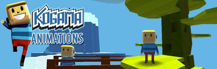 Kogama: animaciones