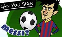 ¿Puedes fichar a Messi?