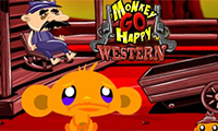 Monkey Go Happy: el viejo Oeste
