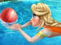 Elsa à la piscine