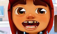 U-Bahn-Surfer: Zahnprobleme