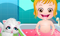 baby hazel spa bath a free game for girls on. Black Bedroom Furniture Sets. Home Design Ideas