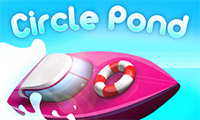 Circle Pond: Speed Boat Game