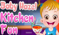Baby Hazel: Kitchen fun
