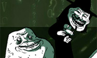 Trollface-verdediging