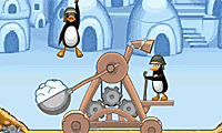 Crazy Penguin Catapult