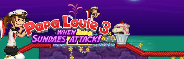 Papa Louie 3 : L'attaque des sundaes
