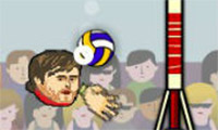 Sports Heads: Volleyball - 2 Player Game