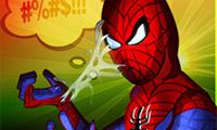 Lucha de famosos: Hombre Araña
