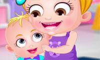 Baby Hazel: día de los hermanos