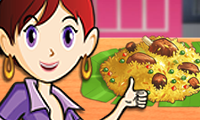 Cordeiro Biryani: Culinária da Sara