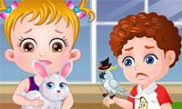 La bebé Hazel: hospital de mascotas