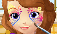 Sofia the First: Face Art