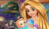 Rapunzel: Bebê com Fome