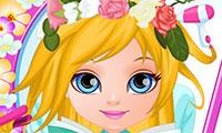 Baby: Kwiatowe warkocze