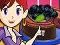 Dark Chocolate Blackberry Cheesecake: Sara's Cooking Class