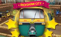 Course en rickshaw