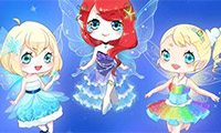 Cute Fairies Dressing Up