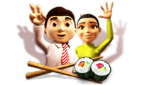 Youda Sushi Chef: Restaurant Food Game