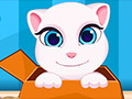 Talking Angela And Tom Cat Babies