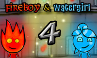 Fireboy &Watergirl 4: Crystal Temple