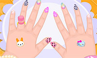 Baby Crazy Nails