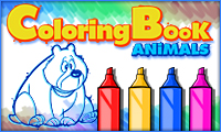 Back to School: Cute Bear Coloring