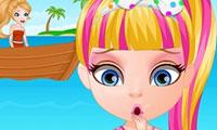 Baby Beach Slacking