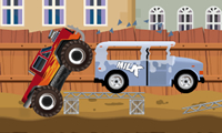 Monster Truck Rampage: Driving Game