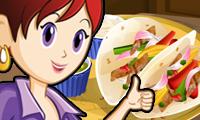 Fajitas de pollo: sara's Cooking Class