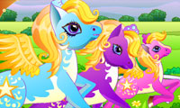 Course de poney