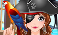 Maquille une pirate