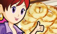 Buñuelos de manzana: cocina con Sara