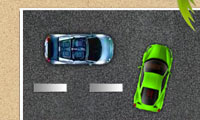 Parking en bord de mer