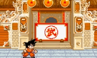 Dragon Ball Z: Goku salta