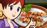 Brochetas para picnic: cocina con Sara