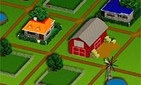La strada per la fattoria