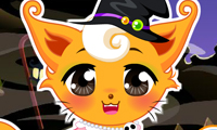 Costume d'Halloween pour chaton